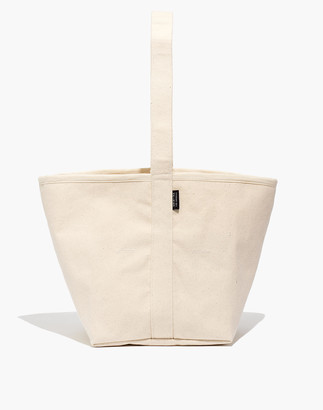 Madewell SHIN+NA Reversible Canvas Bucket Bag