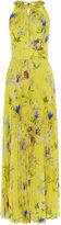 Karen Millen Yellow Floral Maxi Dress