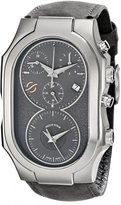 Philip Stein Teslar Men's 300-SDG-CASTGR Swiss Signature Analog Display Swiss Quartz Watch