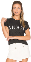 Private Party Mood Tee in Black