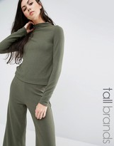 Noisy May Tall Long Sleeve High Neck Sweater Co-Ord