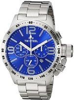 TW Steel Men's CB14 Analog Display Quartz Silver Watch