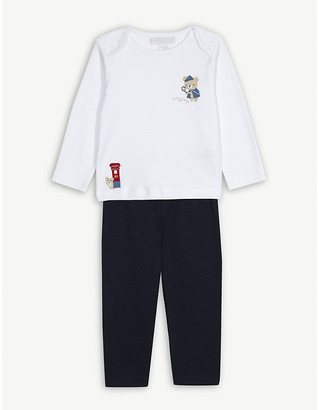 The Little White Company London bear cotton pyjamas