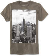 Ring of Fire Men's New York City Mesh Graphic-Print Cotton T-Shirt, Only at Macy's