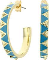 House Of Harlow Nile Delta Hoop Earrings