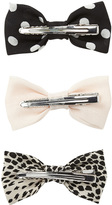 Forever 21 FOREVER 21+ Quirky Hair Bow Set