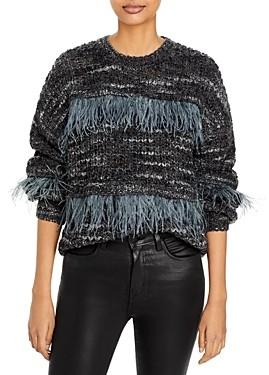 Cinq à Sept Melissa Fringe Sweater