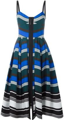 Fendi Wavy Print Dress