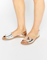 Asos JOIN ME Leather Summer Shoes