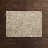 Crate & Barrel Wood Grain Placemat