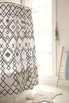 Urban Outfitters Magical Thinking Printed Boucherouite Shower Curtain