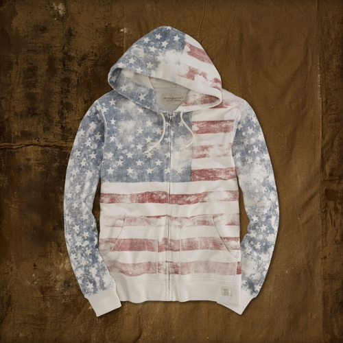 Denim & Supply Ralph Lauren American Flag Full-Zip Hoodie