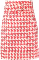 Sara Battaglia houndstooth skirt