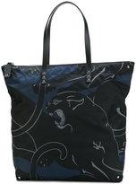 Valentino Garavani Valentino Rockstud panther tote - men - Acrylic/Polyamide - One Size