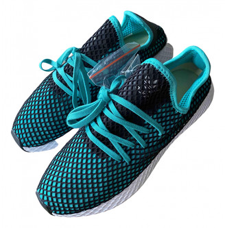 adidas Deerupt Runner Green Cloth Trainers