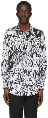 Sankuanz White Graffiti Shirt