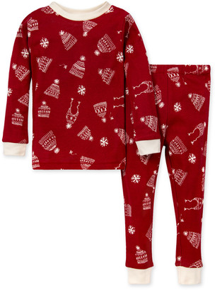 Burt's Bees Hats Off! Organic Toddler Holiday Family Pajamas
