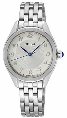 Seiko Women's Analog Quartz Watch with Stainless Steel Strap SUR379P1