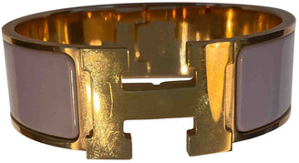Hermã ̈S HermAs Clic H Pink Ceramic Bracelets