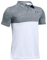 Under Armour Boys' Threadborne Colorblocked Tech Polo Shirt - Sizes S-XL