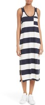 ATM Anthony Thomas Melillo Women's Stripe Mercerized Jersey Dress