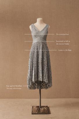 BHLDN Perri Lace V-Neck Dress