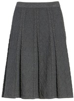 CeCe Women's Jacquard Knit Skirt