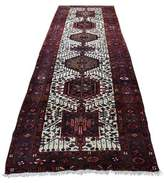 """3.1 Phillip Lim One-of-a-Kind Oriental Hand-Knotted Runner 3'1"""" x 10'10"""" Wool Red/Blue Area Rug Isabelline"""