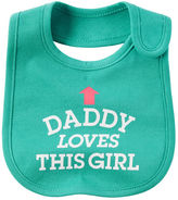 Carter's Daddy Loves This Girl Teething Bib