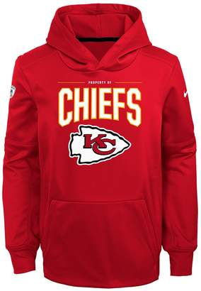 Nfl Boys 8-20 NFL Kansas City Chiefs Therma Hoodie Pullover