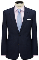 Chester By Chester Barrie Wool Glen Check Tailored Suit Jacket, Indigo