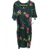 Marc Jacobs Green Silk Dress
