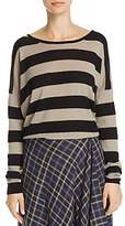 Vince Striped Cashmere-Wool Sweater
