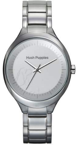 Hush Puppies Women's HP.3784L.1501 Signature Round Stainless Steel White Dial Watch
