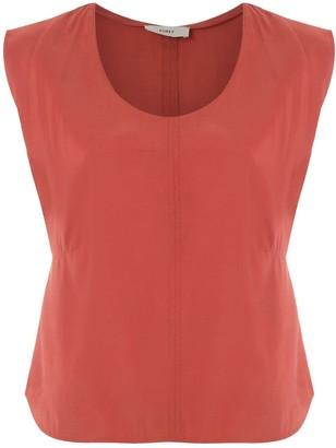 Egrey Ottoman sleeveless blouse