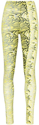 MAISIE WILEN Body Shop graphic-print leggings