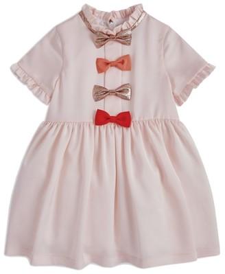 Hucklebones London Bow Ruffle Dress