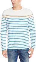 Nautica Men's Slim Fit Breton Stripe Long Sleeve T-Shirt