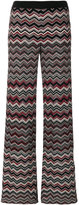 Missoni zigzag flared trousers