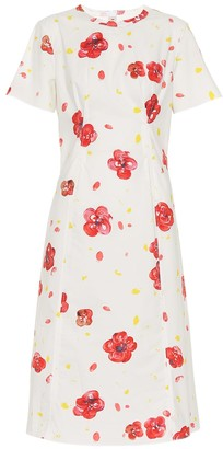 Marni Floral cotton dress