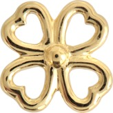Aurelie Bidermann Fine jewellery - 18K Clover single earring with diamond