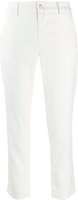 Liu Jo Cropped Slim-Fit Trousers