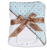 Caden Lane Modern Vintage Collection Octagon Hooded Towel, Boy, Infant