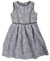 Us Angels Girl's Sleeveless Fit-&-Flare Dress