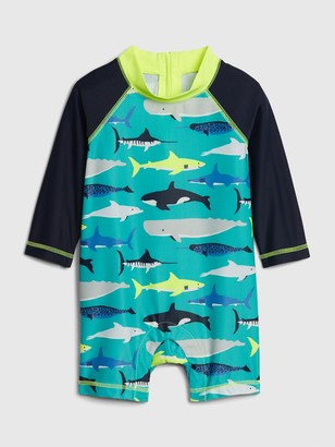 Gap Baby Shark Rash Guard One-Piece