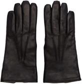 Lemaire Black Lambskin Gloves