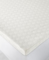 "Martha Stewart Collection Dream Science 2"" Memory Foam Queen Mattress Topper, Created for Macy's"