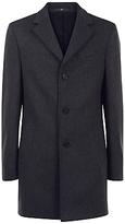 Jaeger Wool Cashmere Overcoat, Charcoal