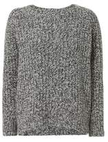 Vince Marled Grey Knit Sweater