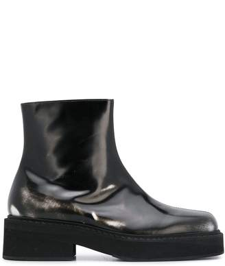 Marni side zip ankle boots
